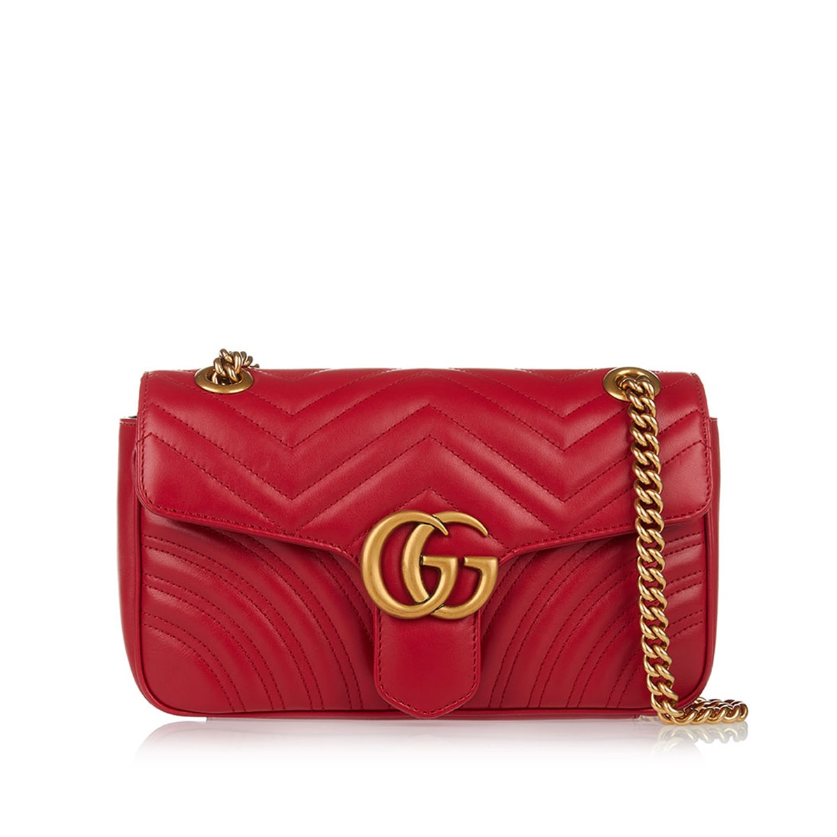 c68dc79f1ee GG MARMONT SMALL MATELASSE SHOULDER BAG