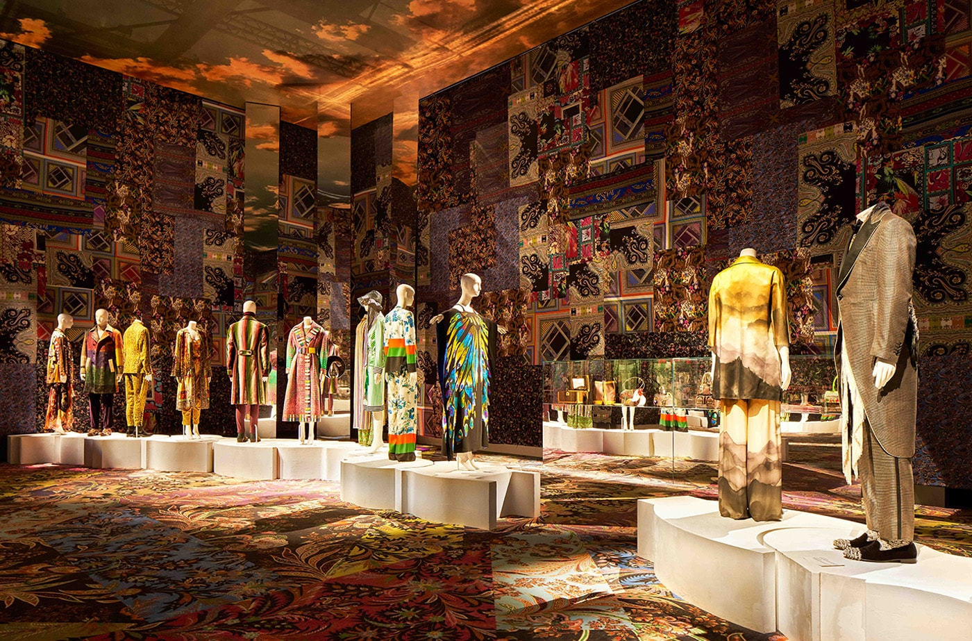 Etro exhibition in Milan - Generation Paisley