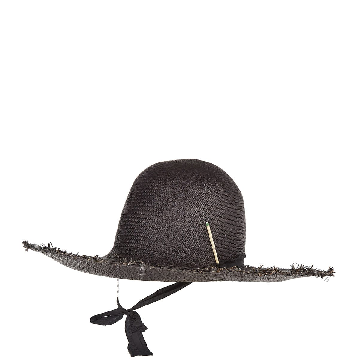 Brock X Nick 4 straw fedora hat