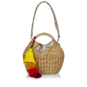 Caribe Heart Basket bag