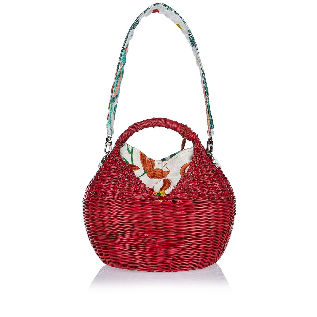 Dia Heart Basket bag
