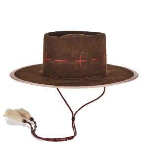 Royo beaver felt fedora hat