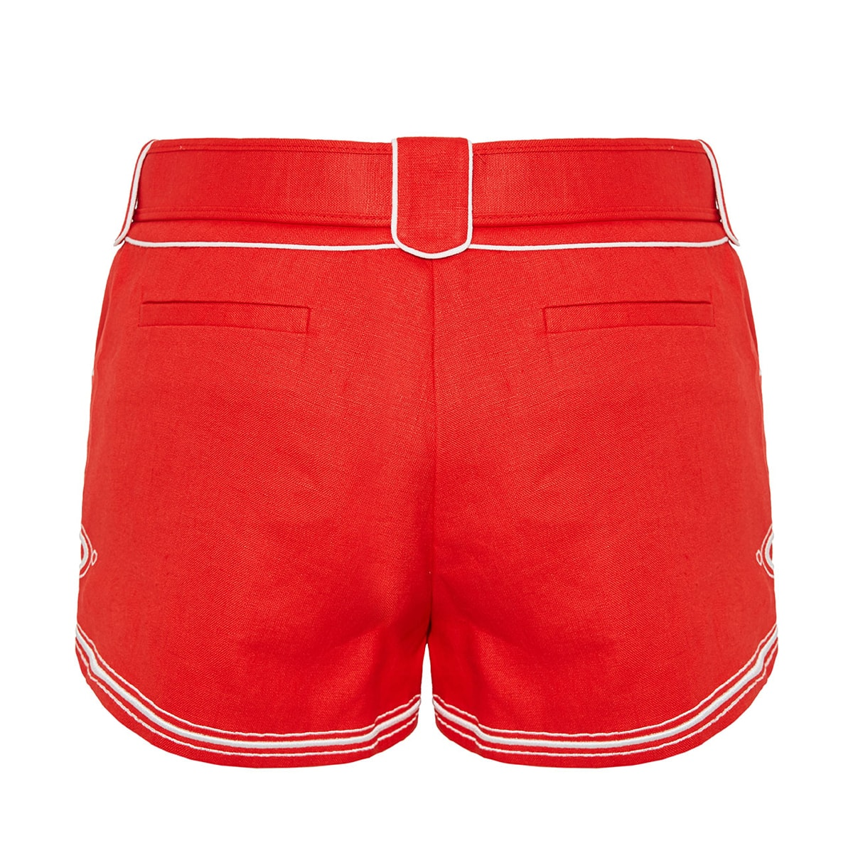 Ninety-Six corded linen shorts