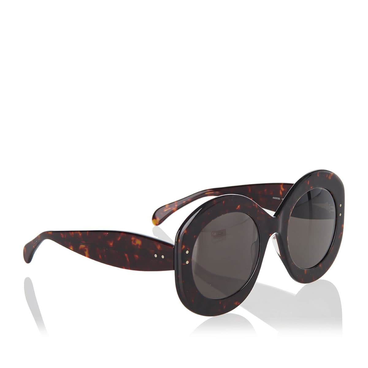 Oversized square acetate sunglasses