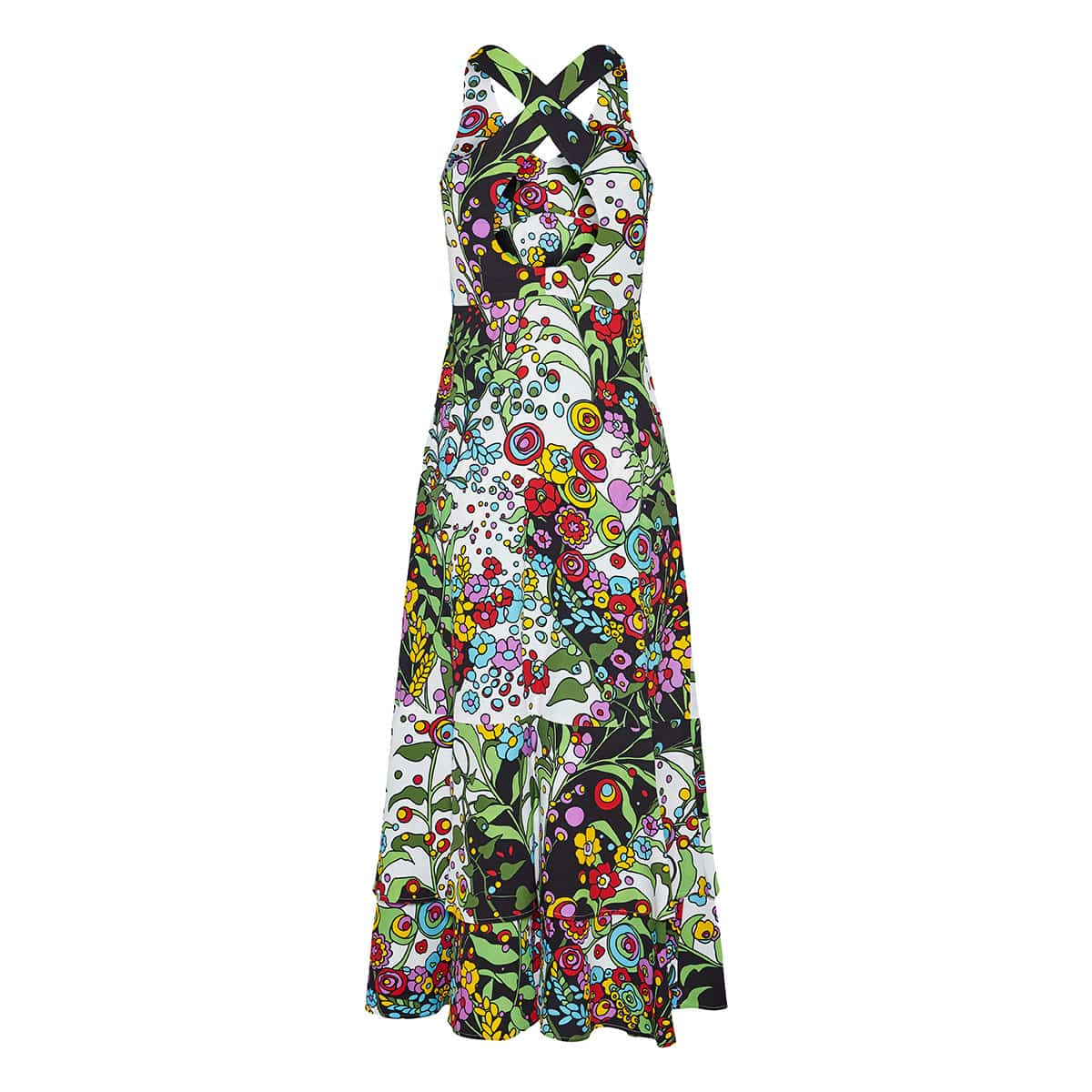 Molly Girl long floral dress