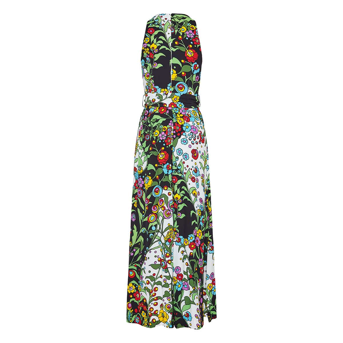 Holly Hock floral jumpsuit