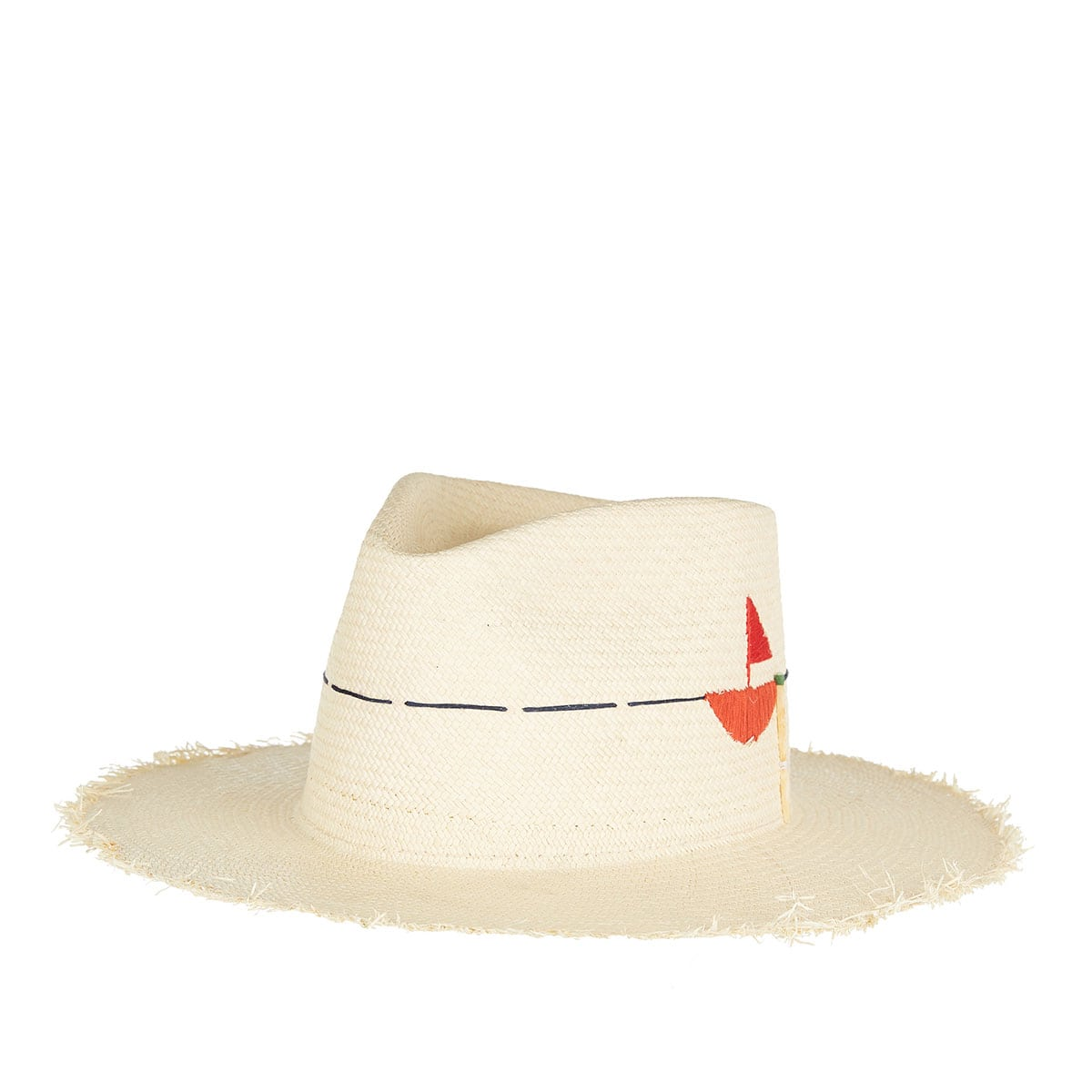 Little Havana straw fedora hat