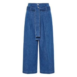 Maggie denim culotte trousers