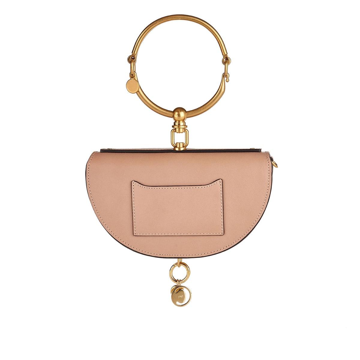 Nile Minaudière leather bag