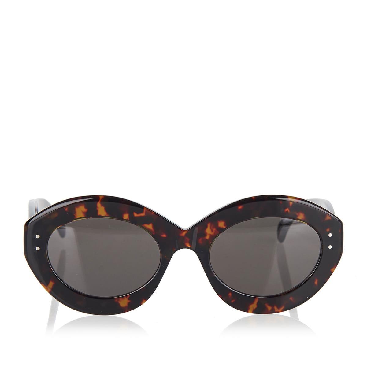 Oversized oval sunglasses
