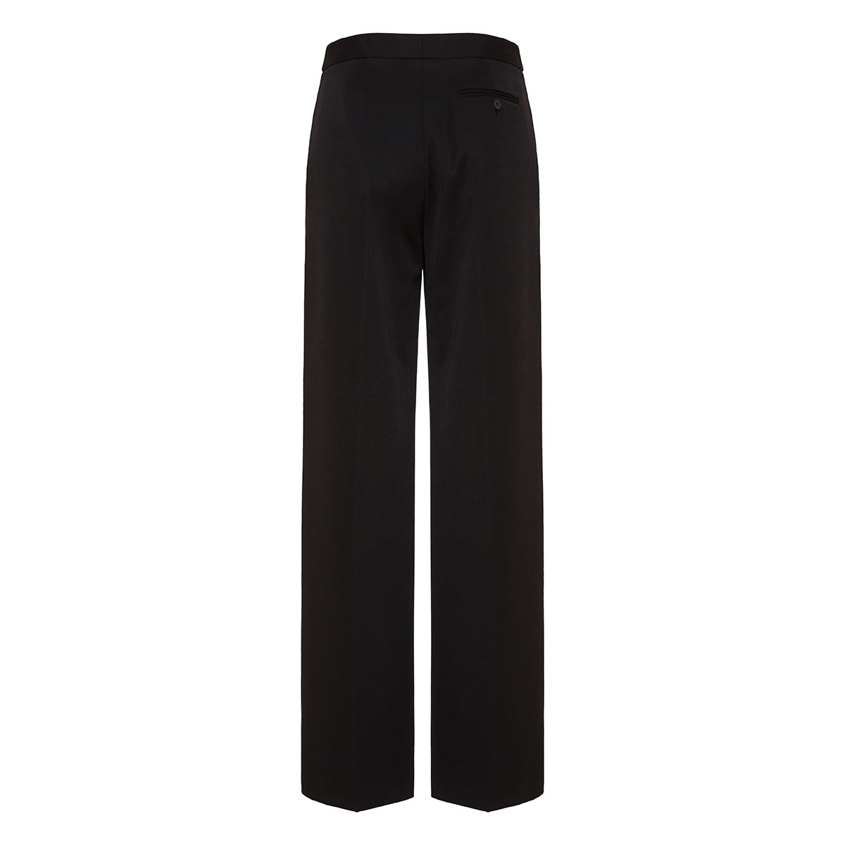 Wide-leg tailored trousers