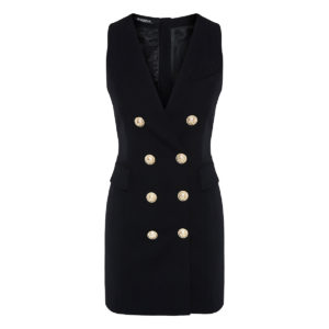 Double-Breasted waistcoat dress