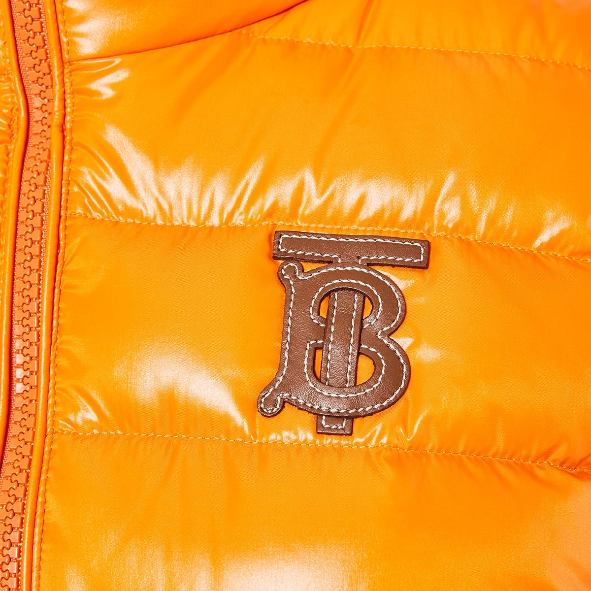 Down quilted gilet