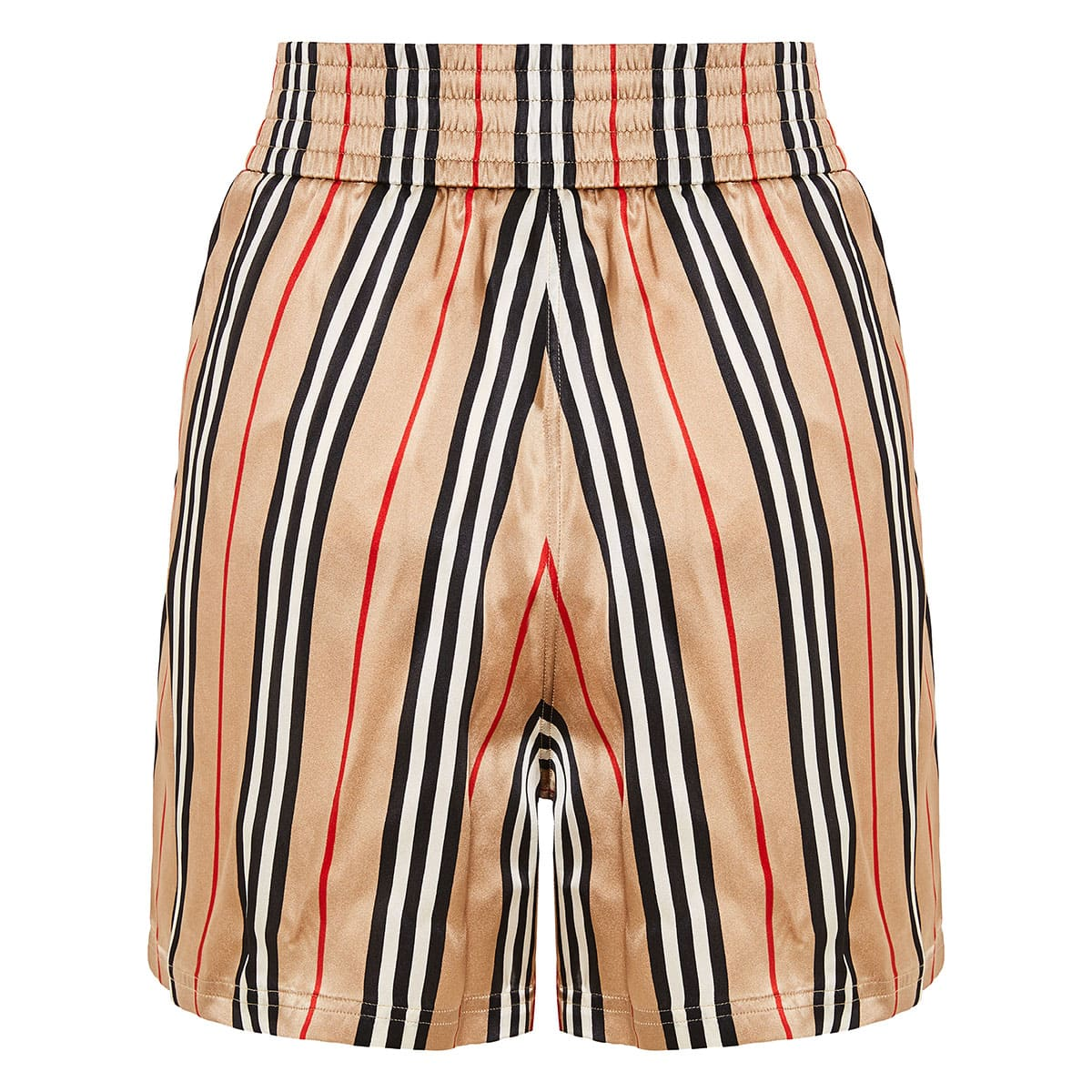 Icon Stripe Silk Shorts
