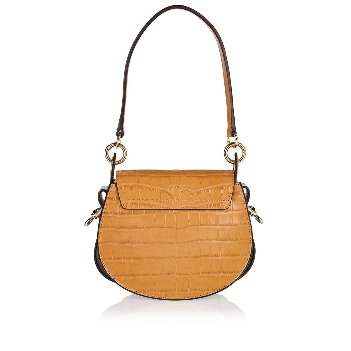 Small Tess croc-effect leather bag