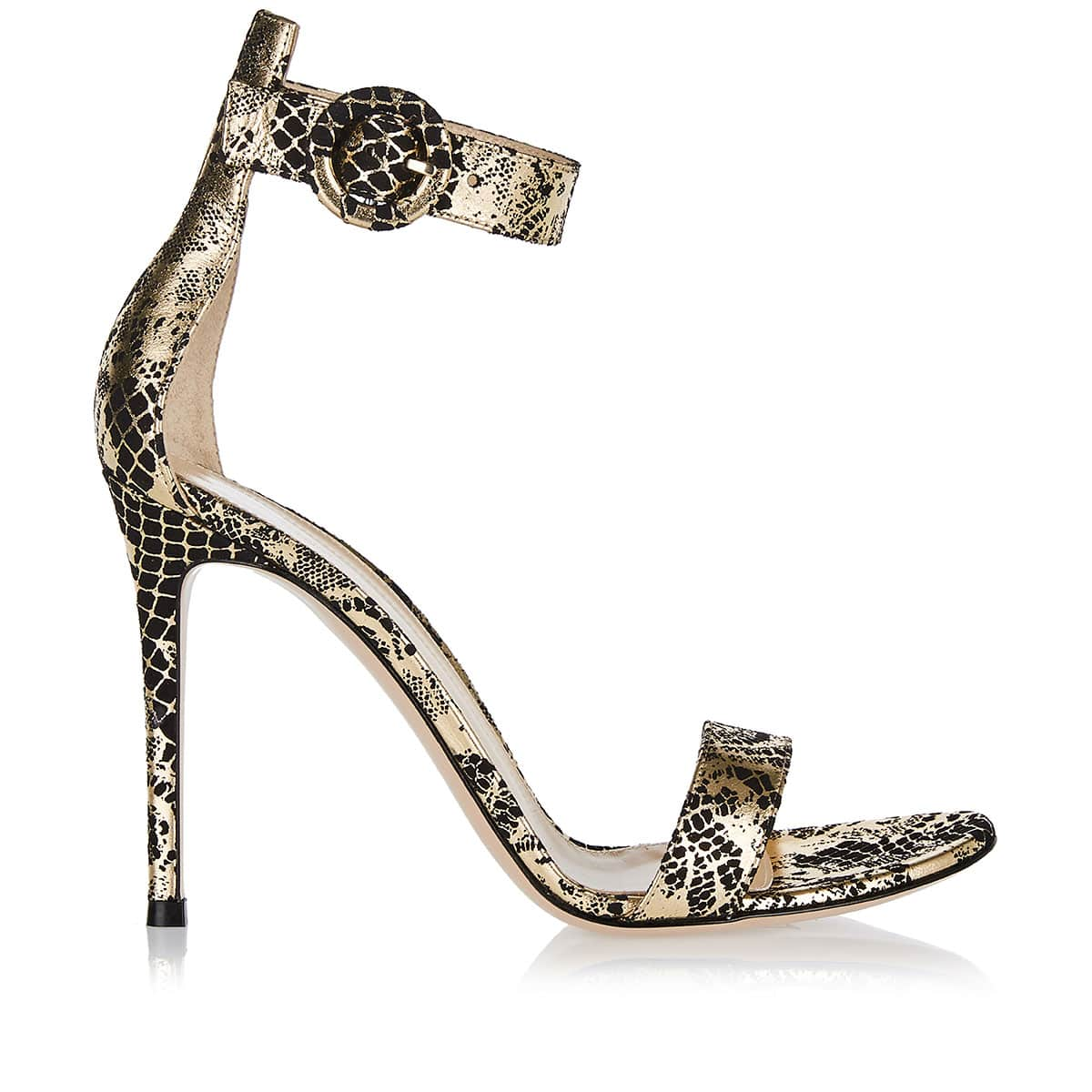 Portofino 105 python leather sandals