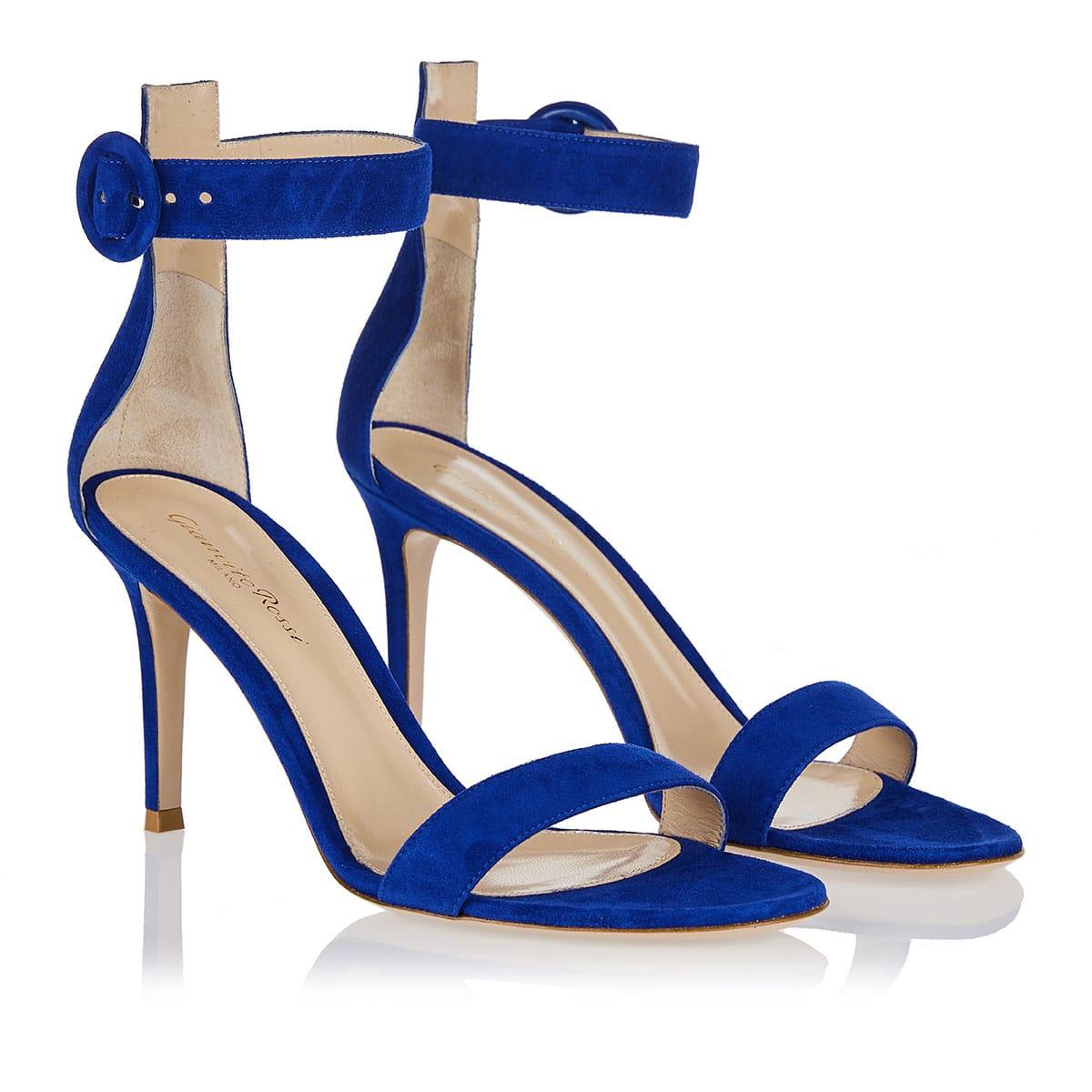 Portofino 85 suede leather sandals