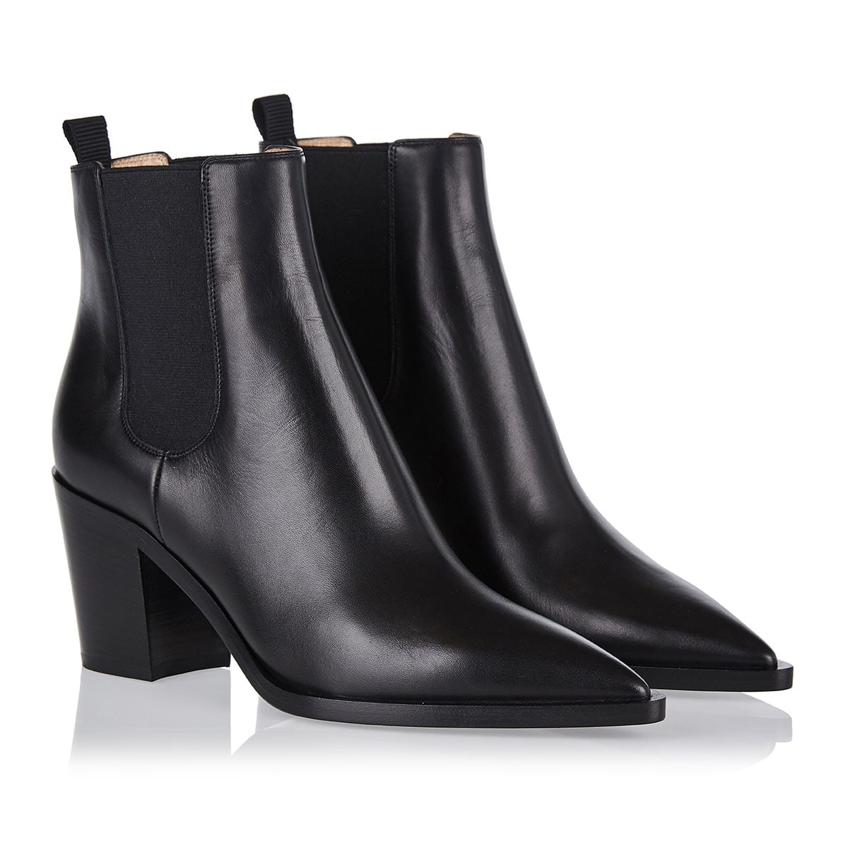 Romney 70 leather ankle boots