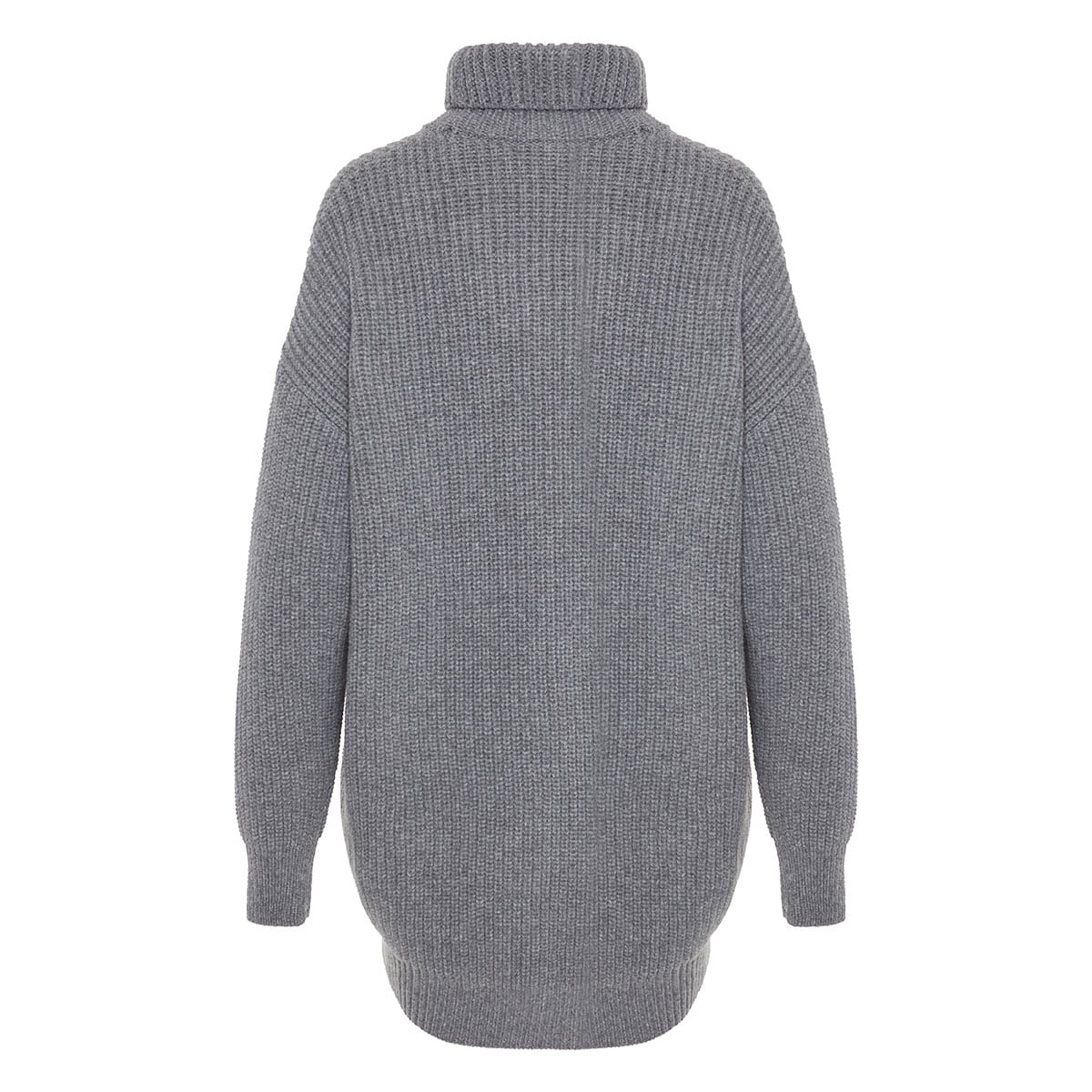 Oversized ribbed-knit sweater