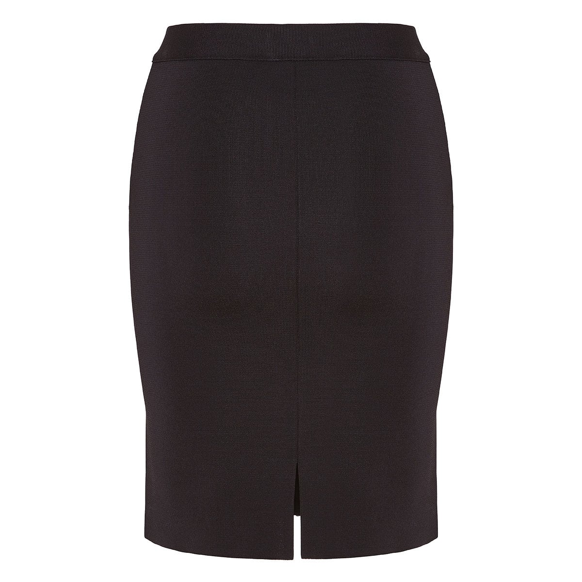 Fitted zipper mini skirt