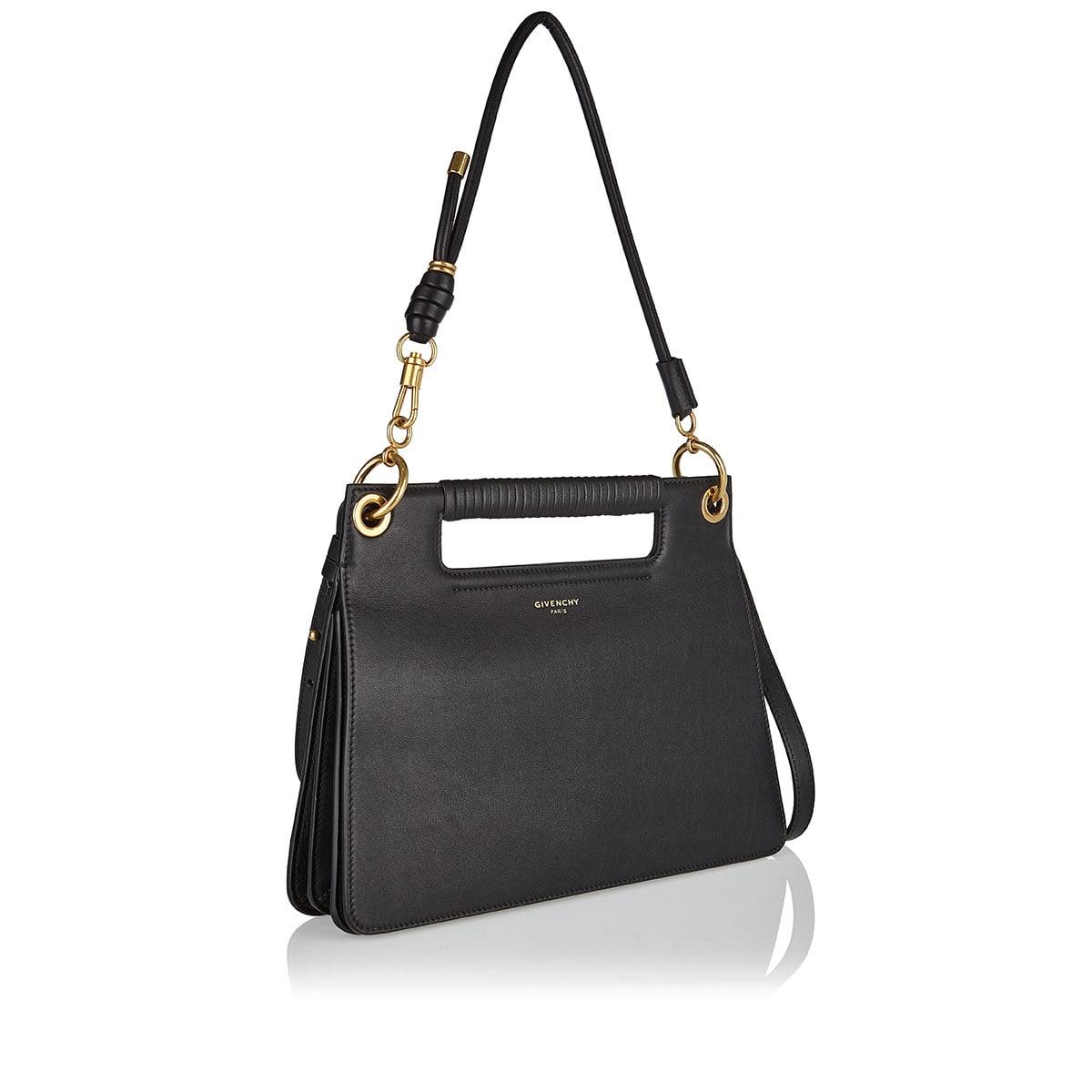 Whip medium leather shoulder bag