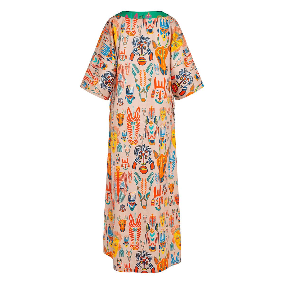 Patricia Carnaval long kaftan dress