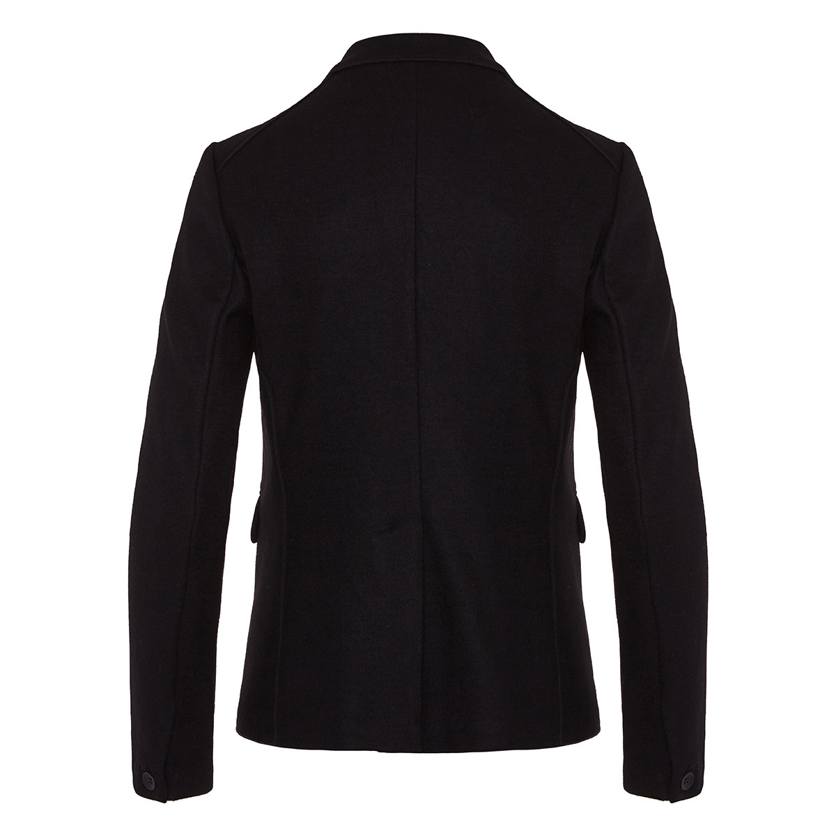 Club single-breasted wool-knit blazer