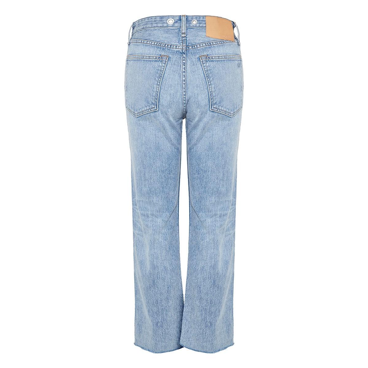 Maya five-pocket cropped jeans