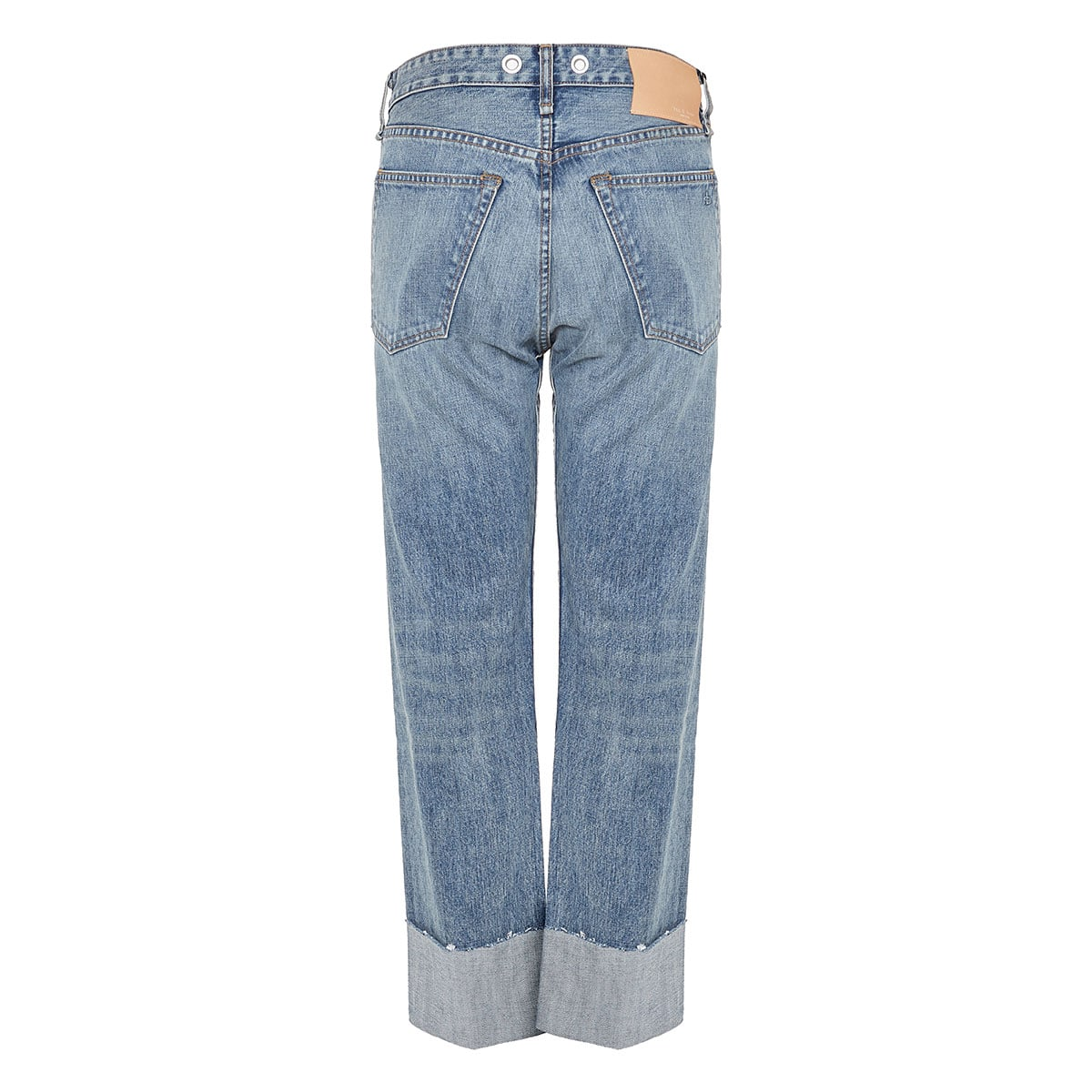 Maya loose-fit distressed jeans