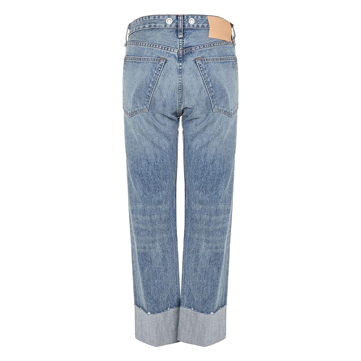 Maya loose-fit distressed jeans