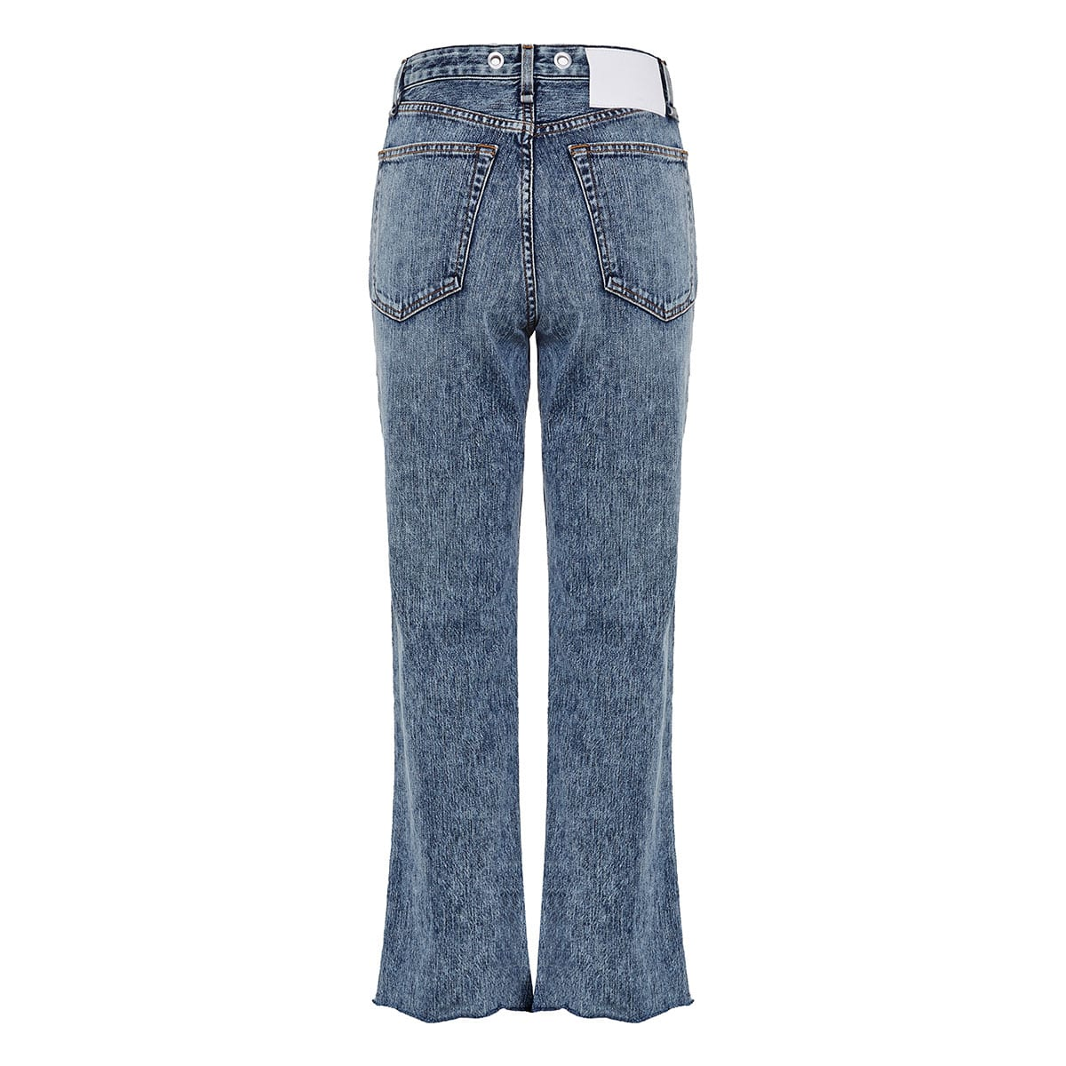 Ruth distressed cropped jeans