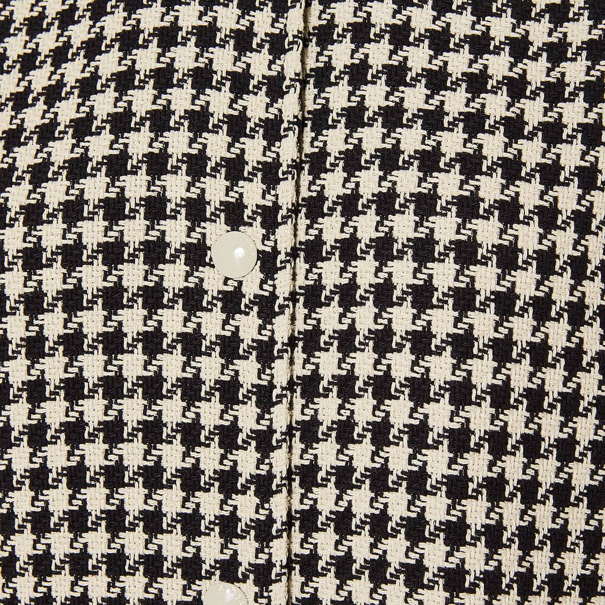 Courtney houndstooth cotton coat