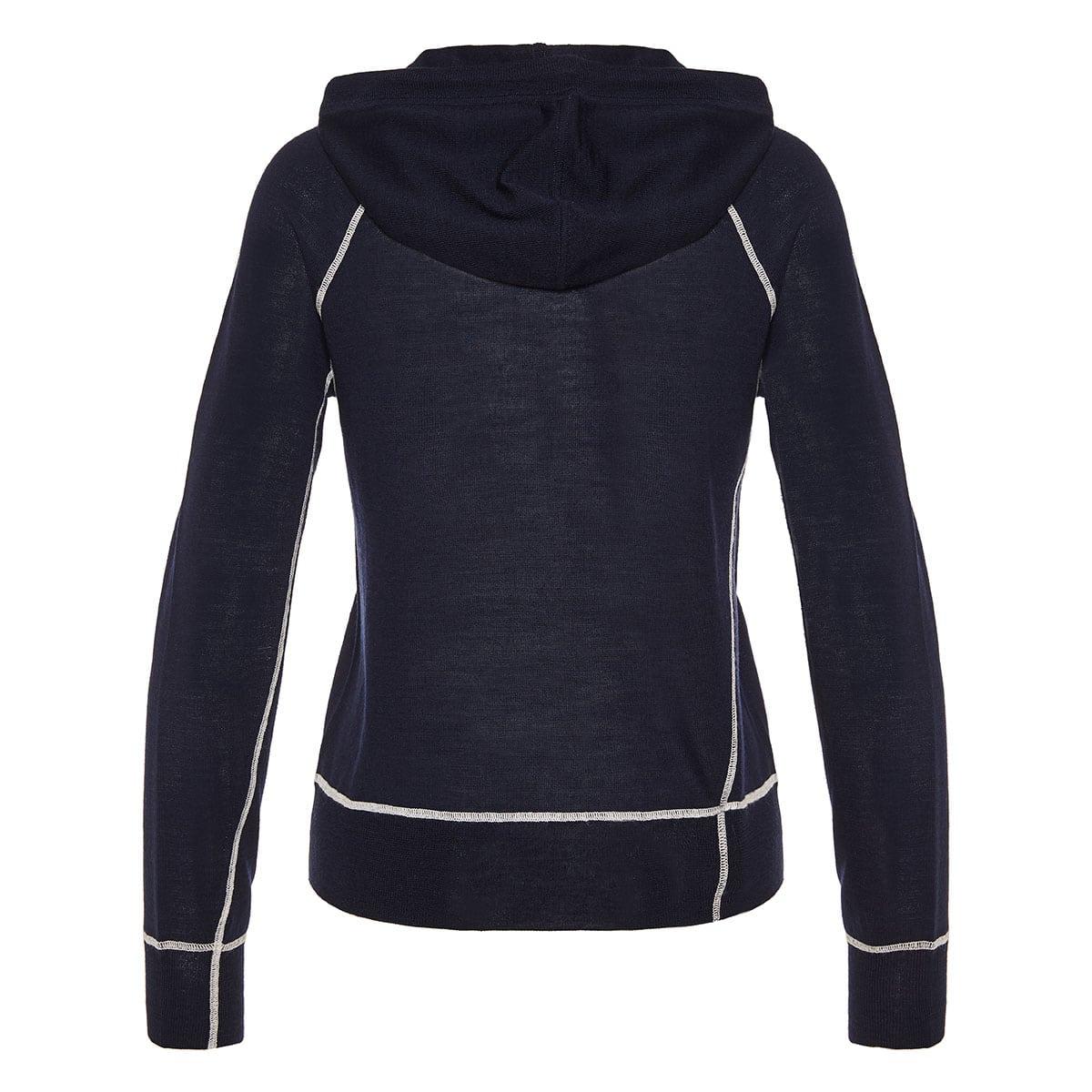 Shannon wool-knit hoodie