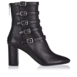 Lou strappy leather ankle boots