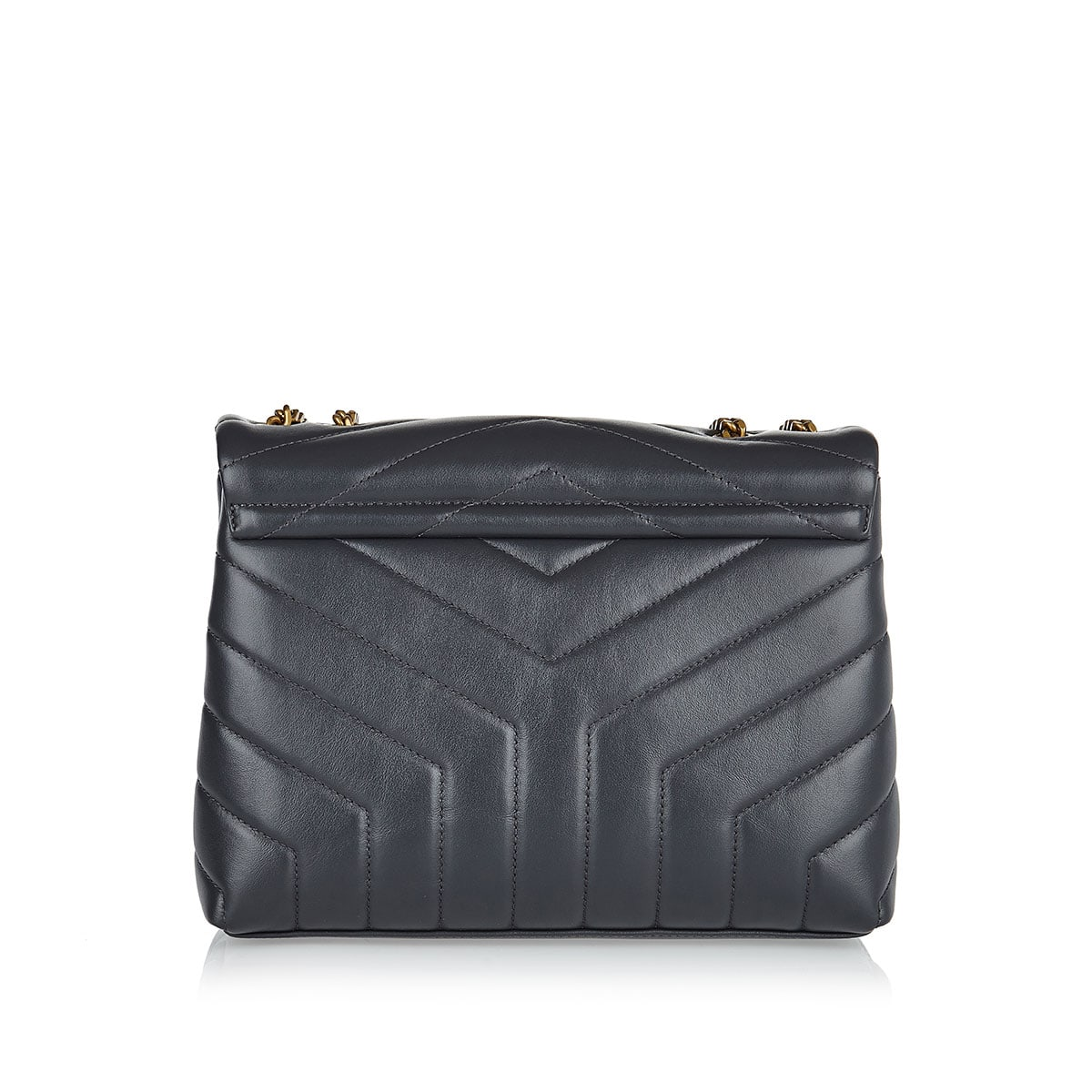 Small Loulou matelassé leather bag