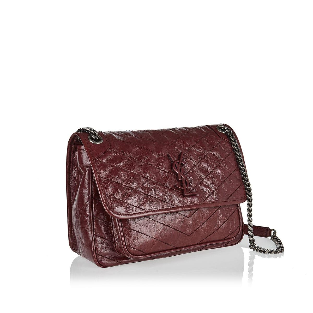 Medium Niki leather shoulder bag