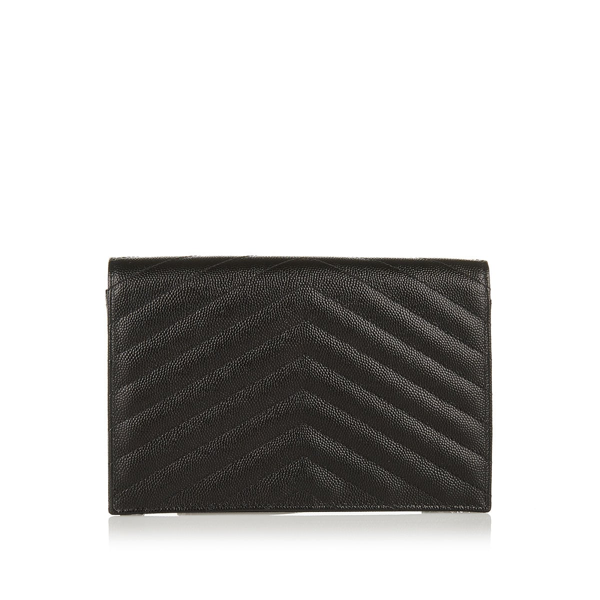 Monogram envelope chain wallet