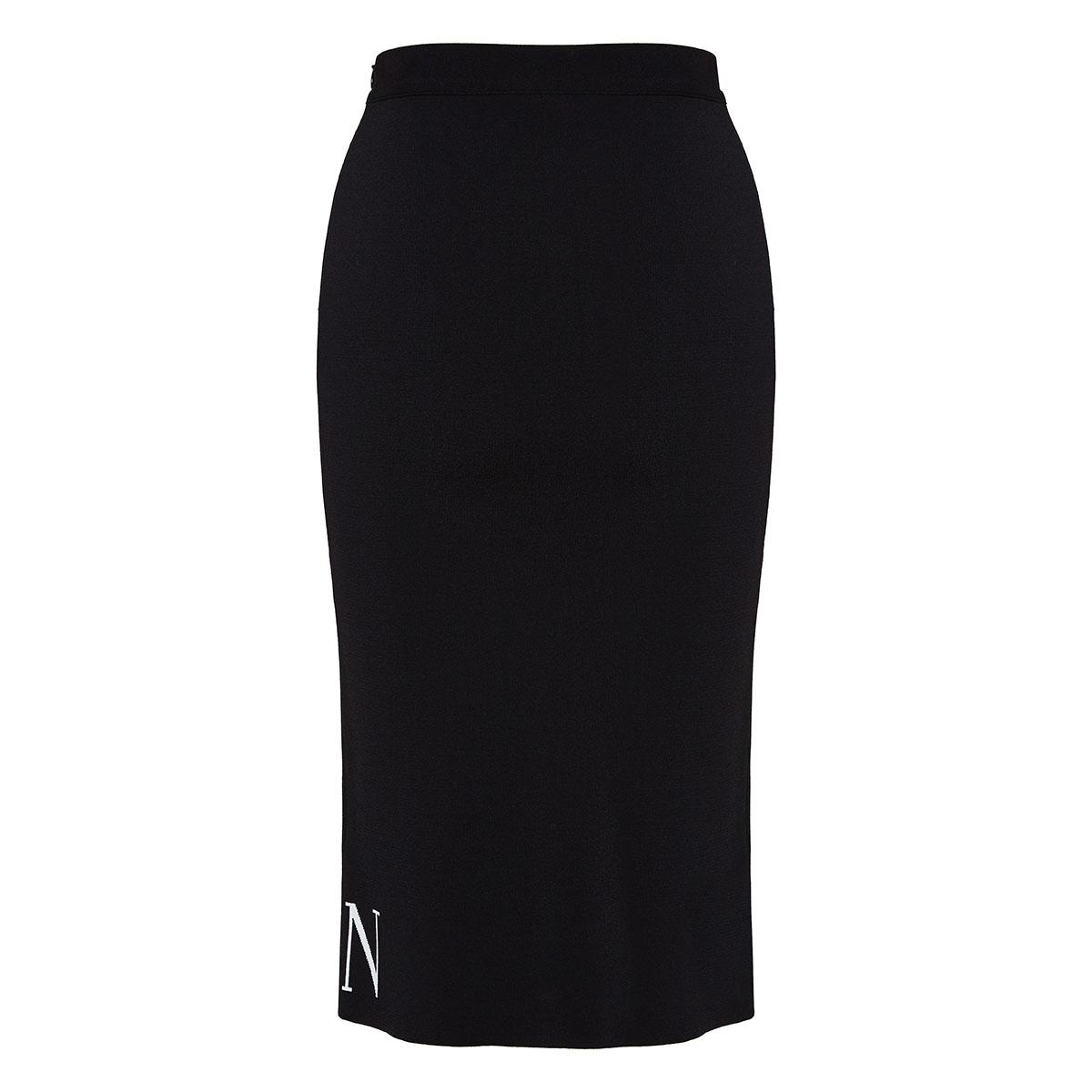 VLTN knitted pencil skirt
