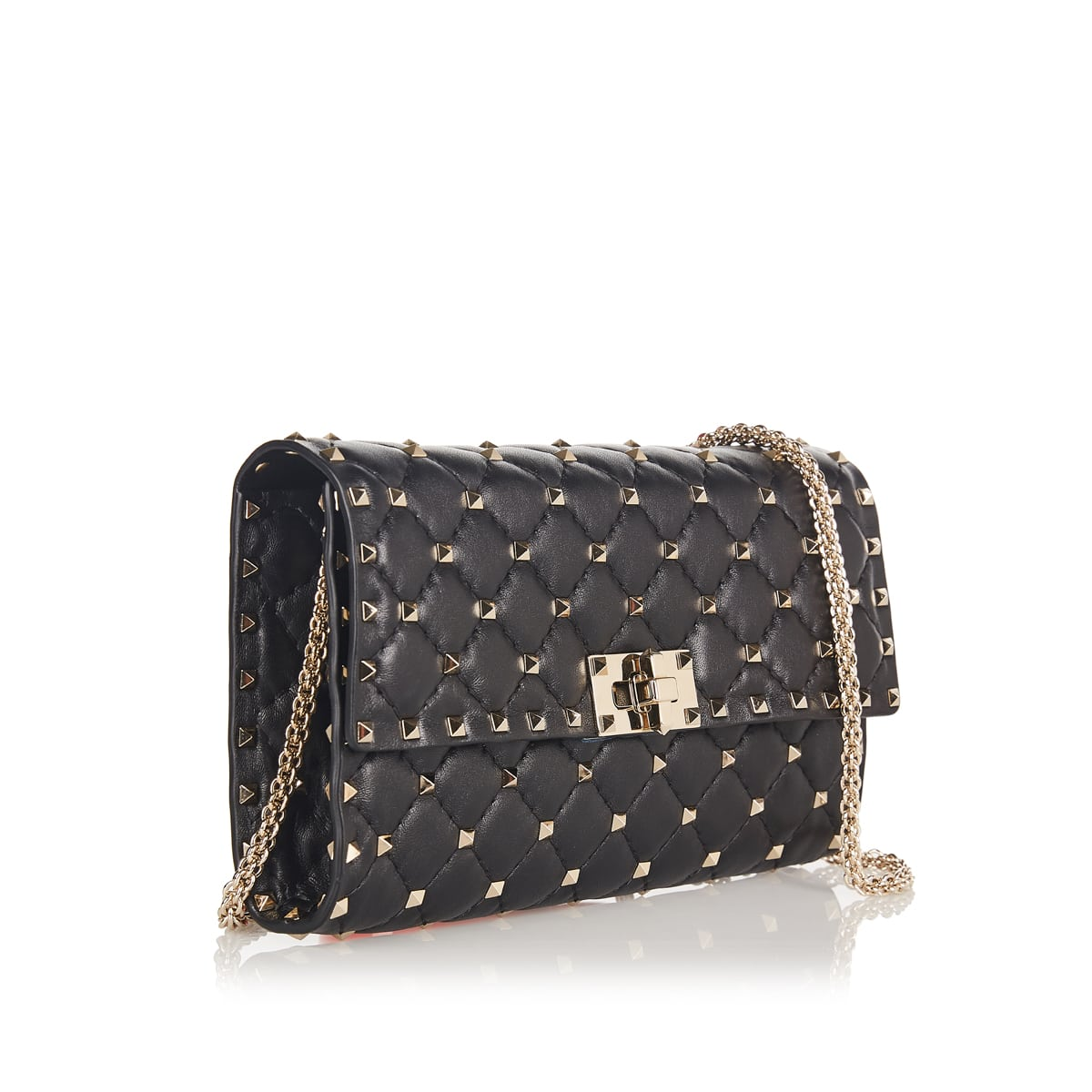 Rockstud Spike chain bag