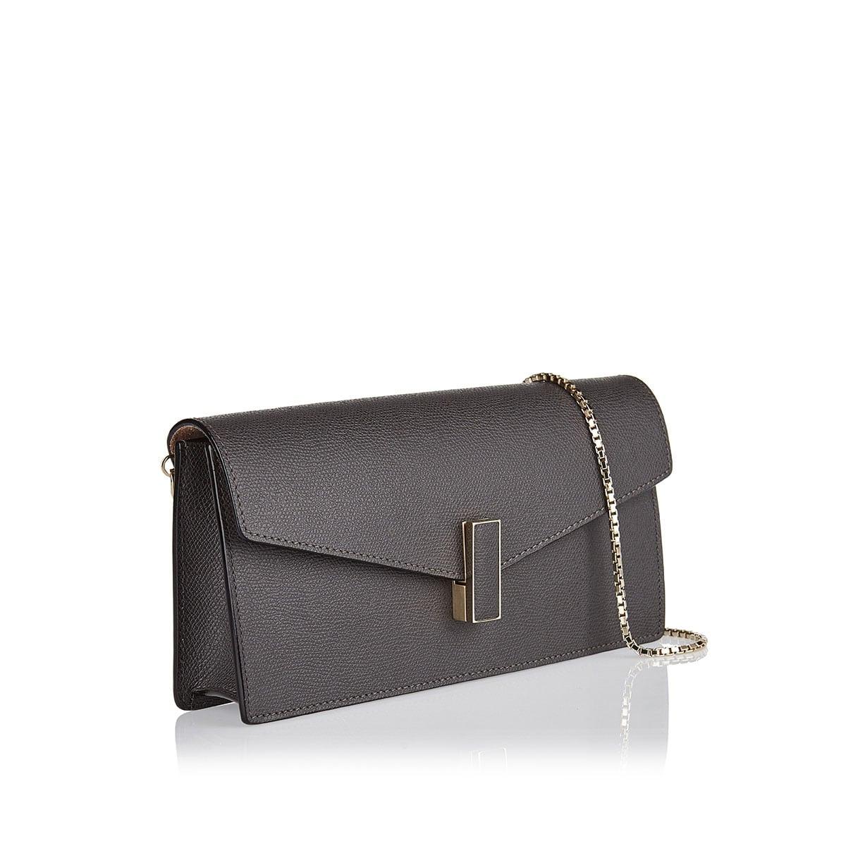 Iside Gioiello leather clutch bag