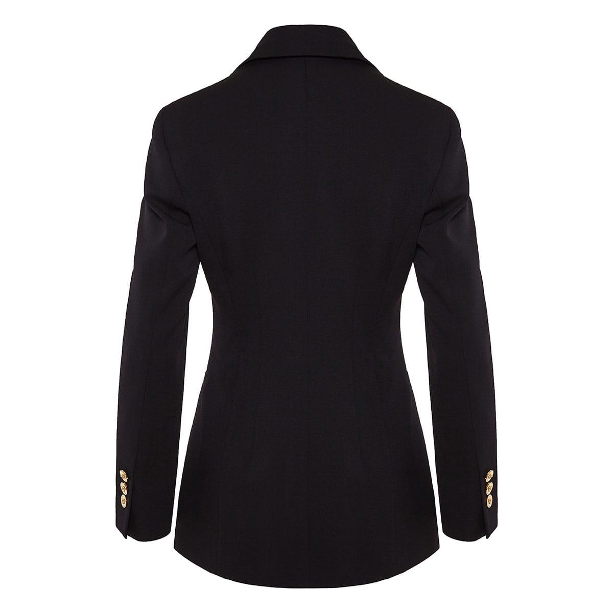 Embellished single-breasted blazer