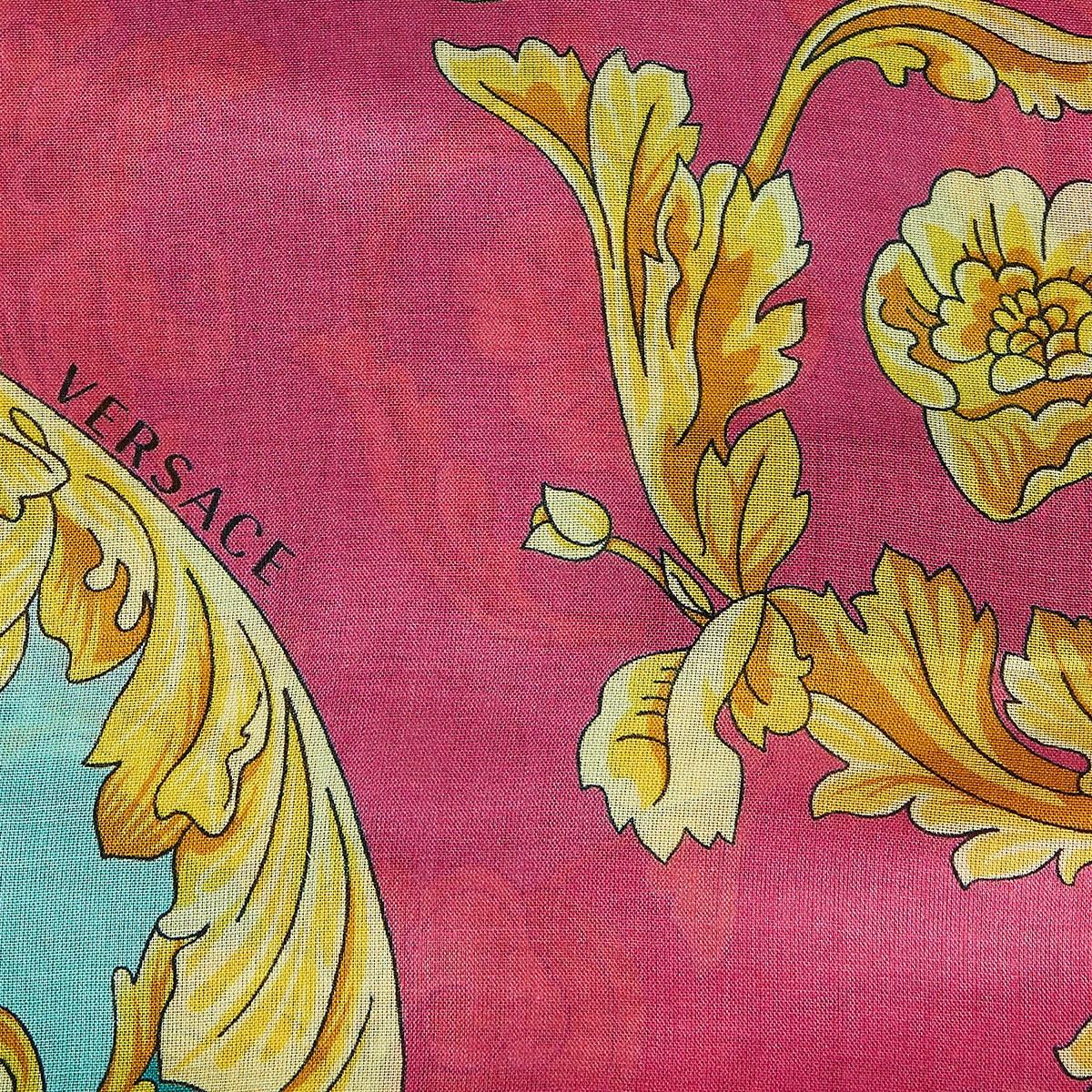 Baroque-print scarf