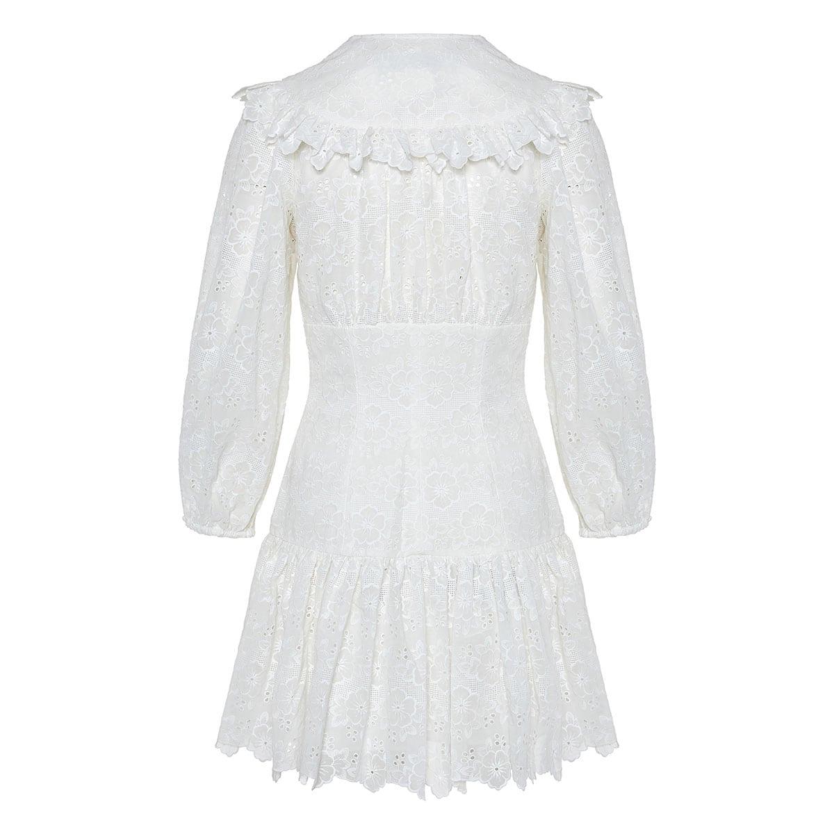 Honour lace corset mini dress