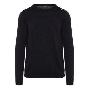 Logo wool sweater