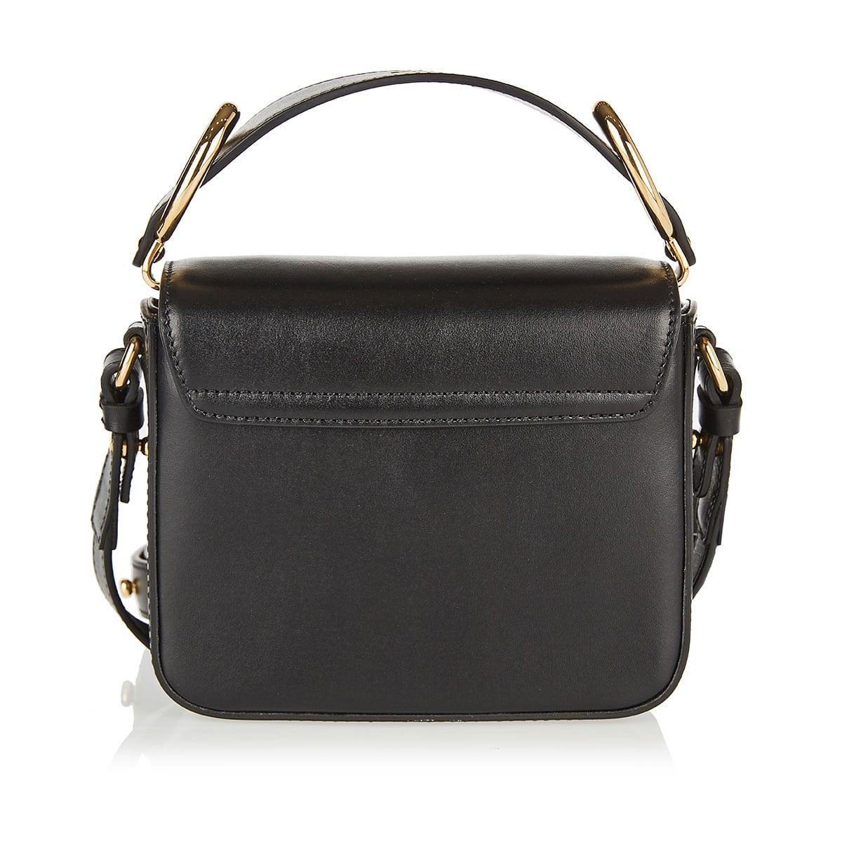 Mini Chloé C leather bag