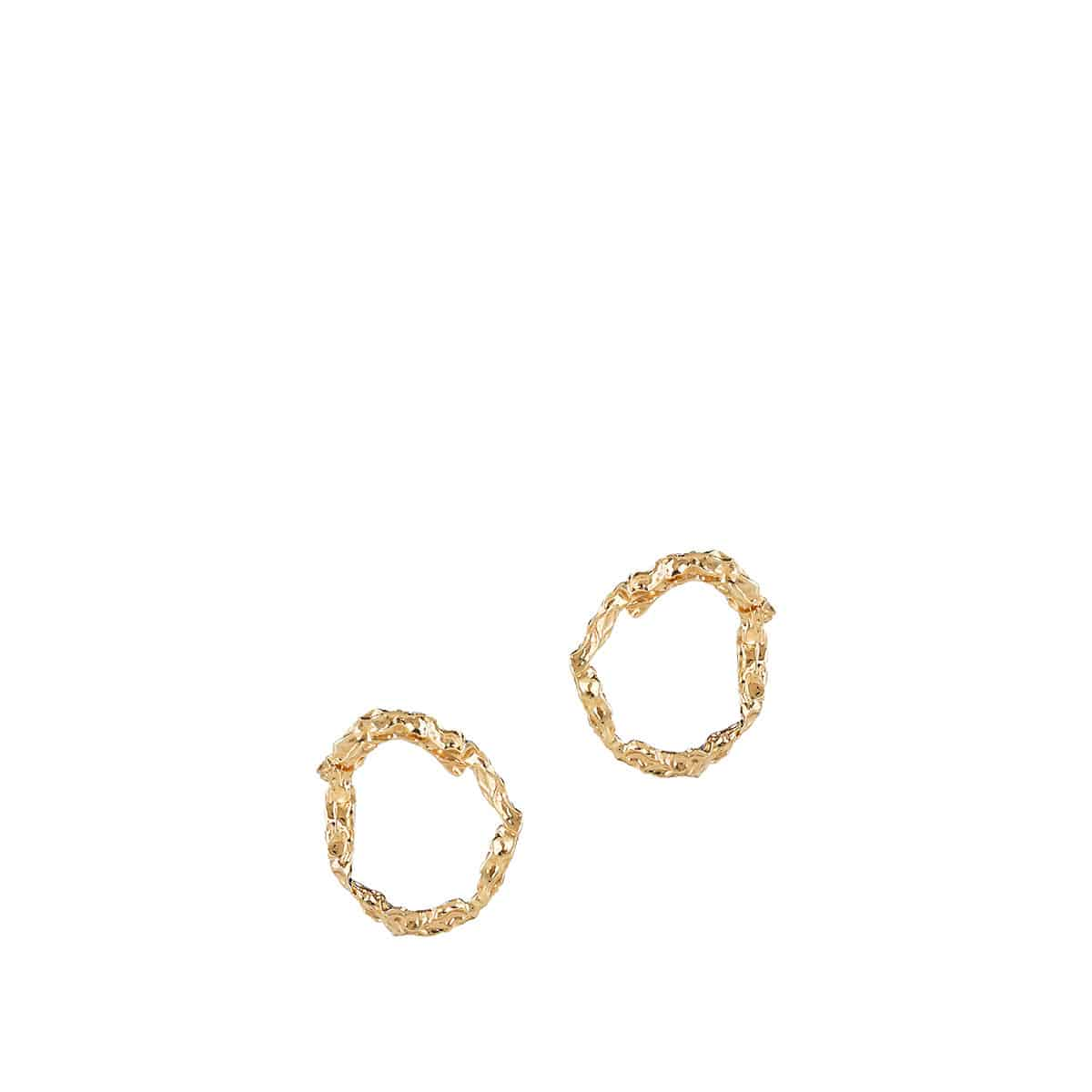 Annouk brass earrings