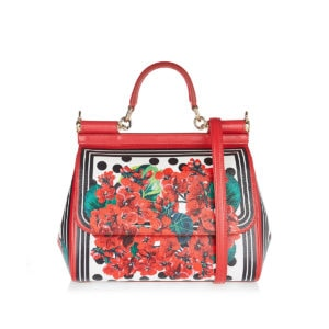 Medium Sicily Portofino print bag