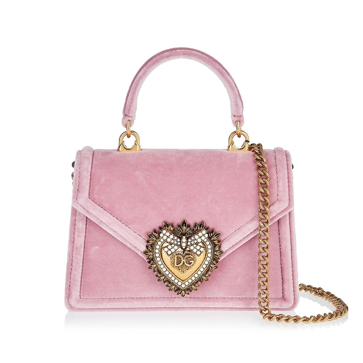 3739b359e63 Small Devotion velvet shoulder bag | LuisaWorld