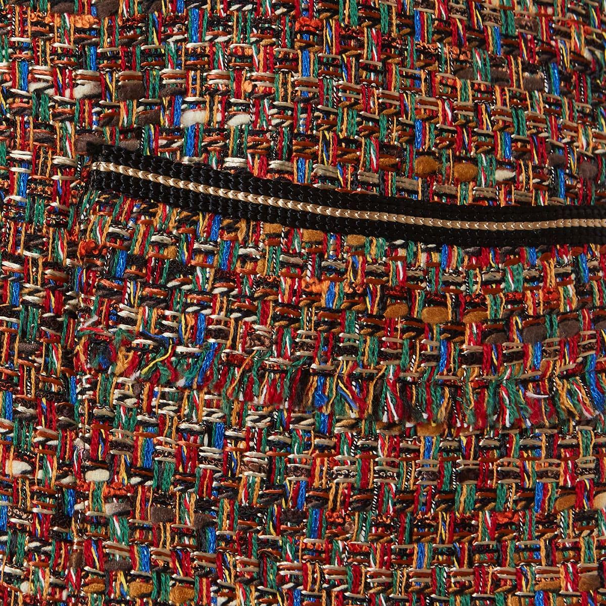 Longline tweed gilet