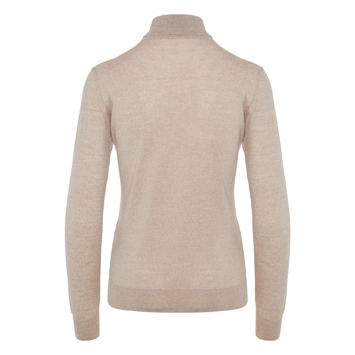 Turtle-neck wool sweater